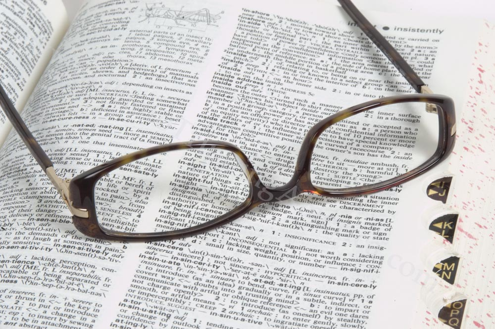 Resources - Glasses on a Dictionary