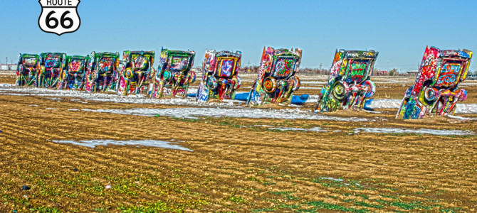 The Field of Art – Cadillac Ranch