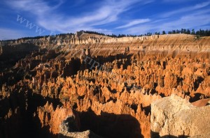 Hoodoos and spires of Silent City in Bryce Canyon National Park
