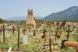 Cemetery Near Taos - Photo Tripping America