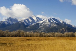 Autumn Snow on Mount Princeton - Photo Tripping America