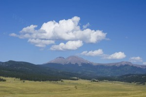 Buffalo Peaks in Summer - Photo Tripping America