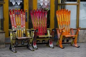 Ski Chairs Vail Style - Photo Tripping America