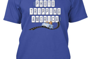 Blue Photo Tripping T-Shirt