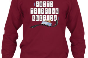 Maroon Photo Tripping Long Sleeve T-Shirt