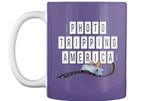 Purple Photo Tripping Coffee Mug