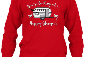 RV Lifestyle Glamping Long Sleeve T-Shirt