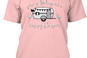 RV Lifestyle Glamping T-Shirt