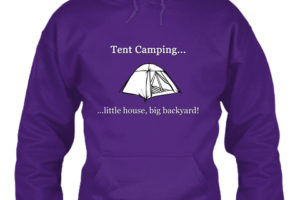 RV Lifestyle Tent Camping Hoodie