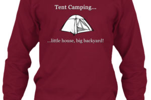 RV Lifestyle Tent Long Sleeve T-Shirt