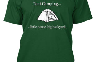 RV Lifestyle Tent Camping T-Shirt